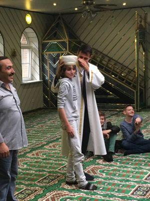 Moscheebesuch_ Max und der Hodscha