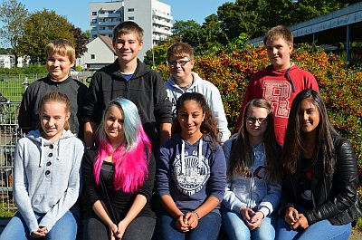 Schulscouts informieren über die Europaschule